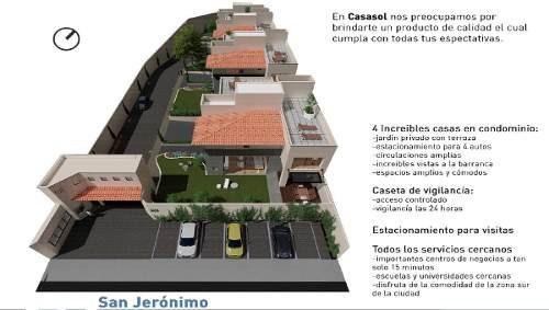 casa en condominio venta san jerónimo