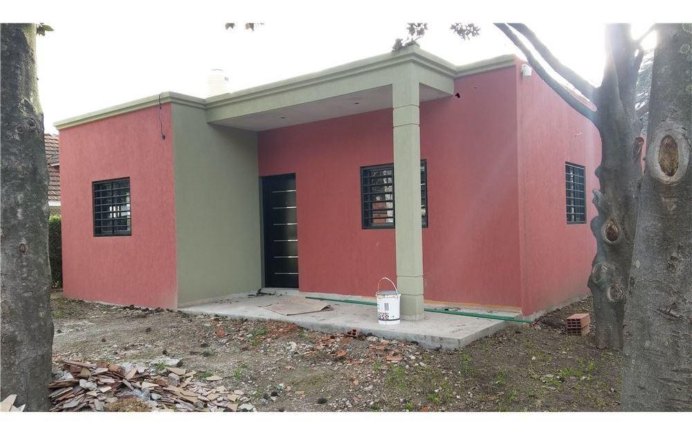 casa en construccion, barrio cerrado nuevo, s /exp