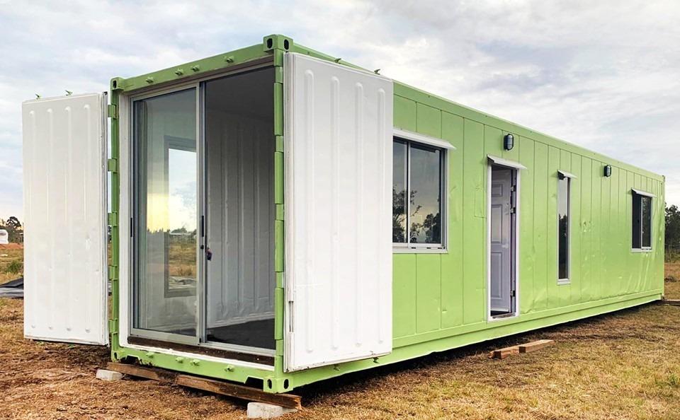 casa en contenedor refrigerado - 1 o 2 dormitorios.