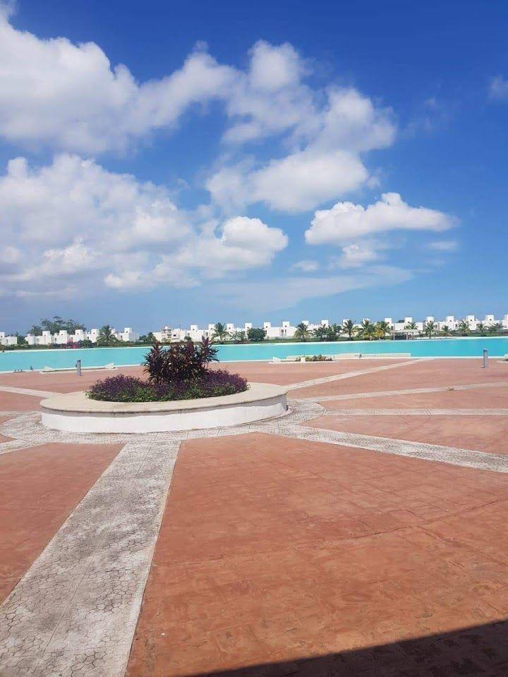 casa en dreams lagoon, alberca y laguna artificial, veracruz,