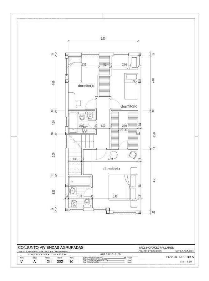casa en duplex 3/4 ambientes a estrenar en victoria