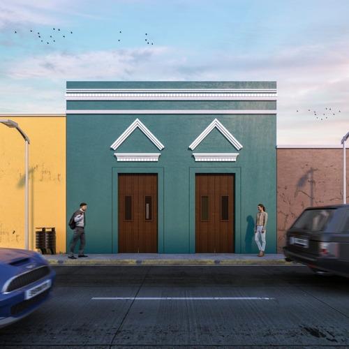 casa en el centro remodelada barrio de san cristóbal mérida yucatán