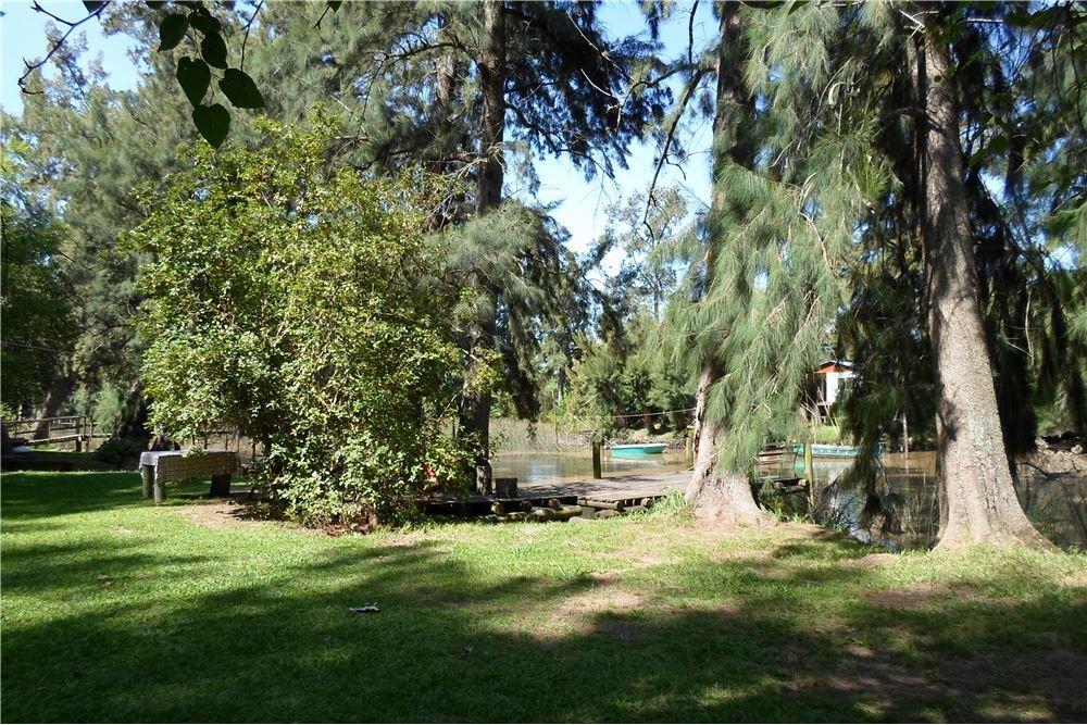 casa en el delta con cabañas equipadas oportunidad
