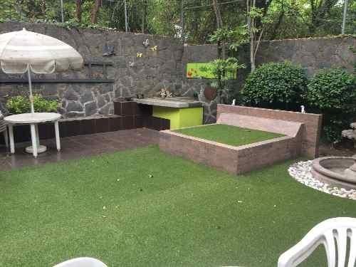 casa en fracc. privado 4 recamaras 339m.  con jardin