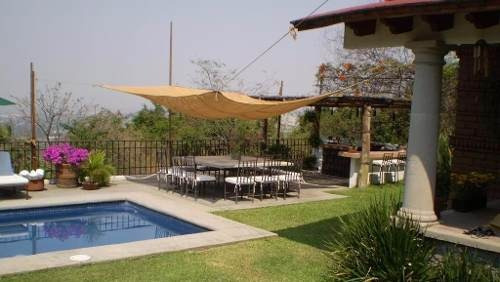 casa en fraccionamiento en club de golf hacienda san gaspar / jiutepec - caen-22-cs