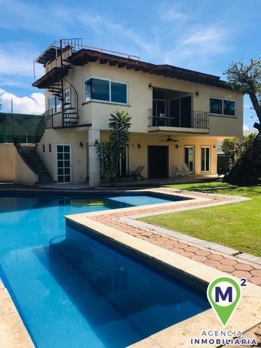 casa en fraccionamiento en lomas de vista hermosa / cuernavaca - m2ai-234-fr