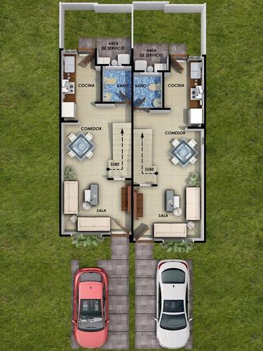 casa en hermosillo de 63 m2