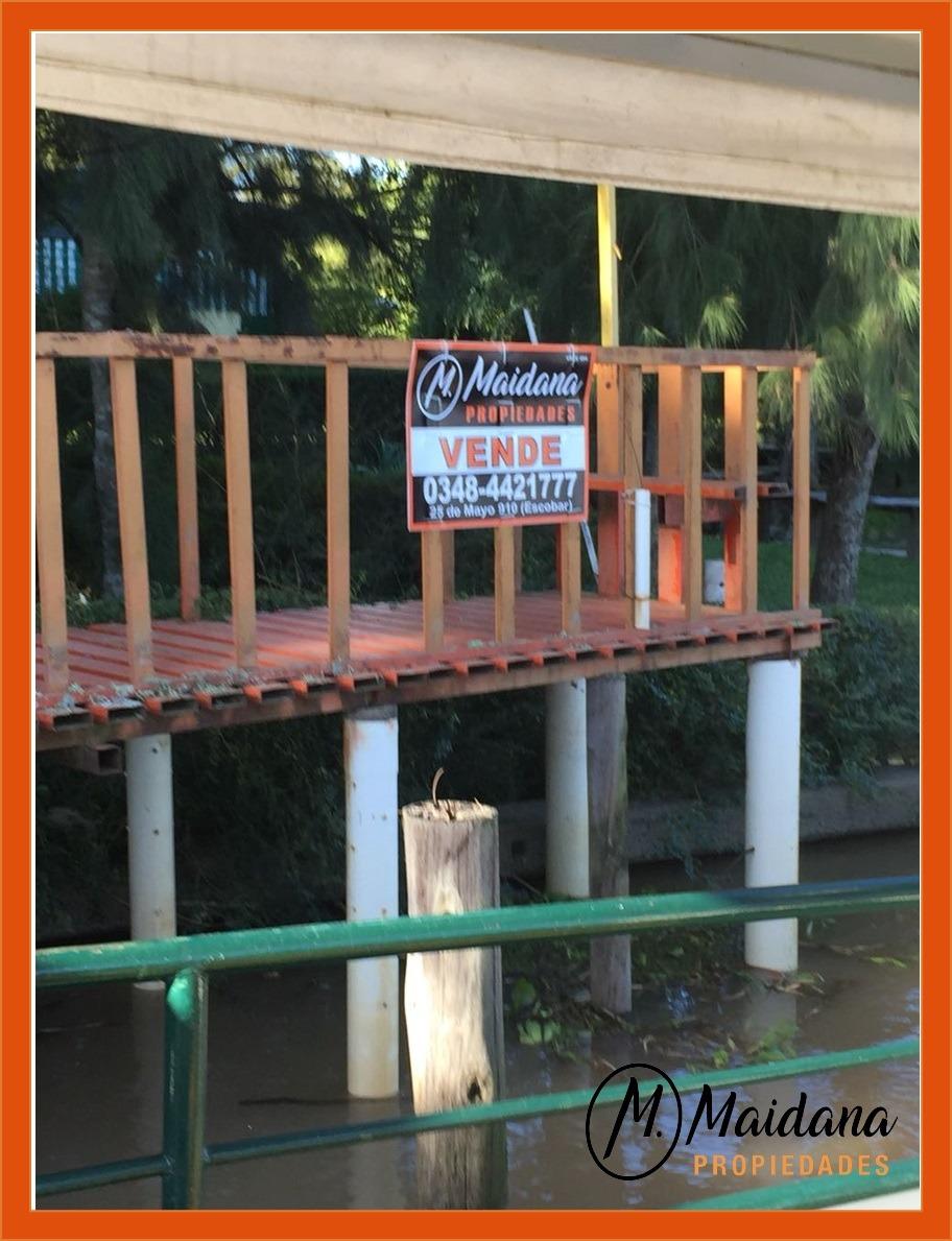 casa en la isla sobre rio paraná de las palmas. escobar