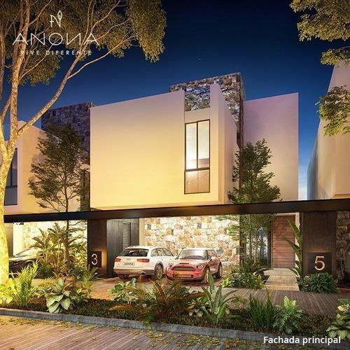 casa en mérida ubicada en temozón norte, en anona residencial.