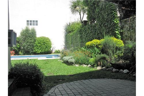casa en nuñez, jardin, pileta y cochera
