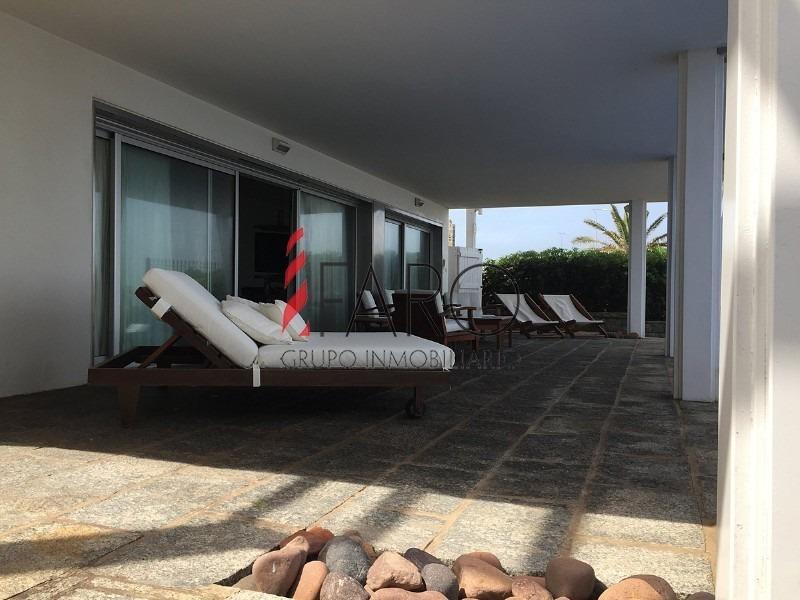 casa en península 4 dormitorios y dependencia con piscina, parrillero y terraza-ref:35958