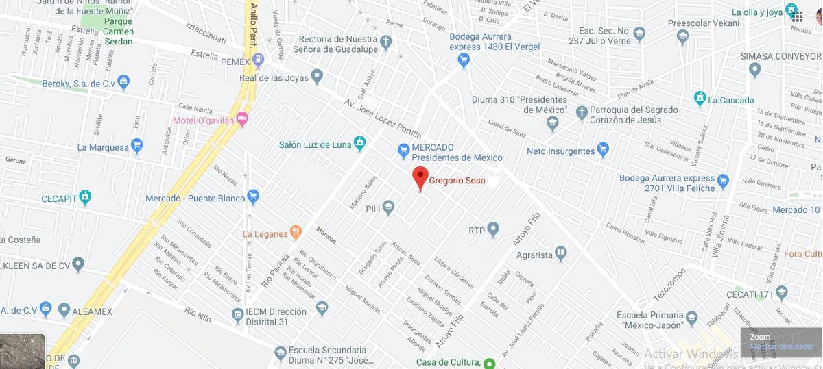 casa en presidentes de mexico mx20-ht5083