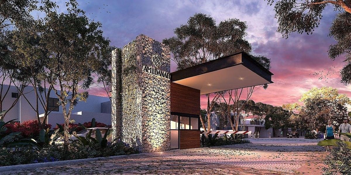 casa en preventa de 1 planta en privada amidanah en temozón mod d