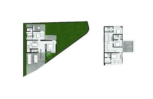 casa en preventa en bosques residencial en el barrial santiago  n.l