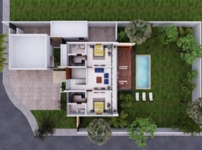 casa en privada a un lado de yucatan country club