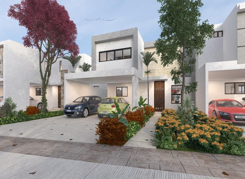 casa en privada amaranto en tamanché a min de plaza la isla,lote 16,mérida,yucatán