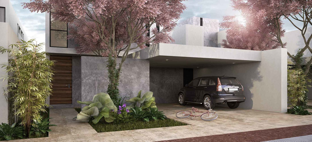 casa en privada arborea conkal merida