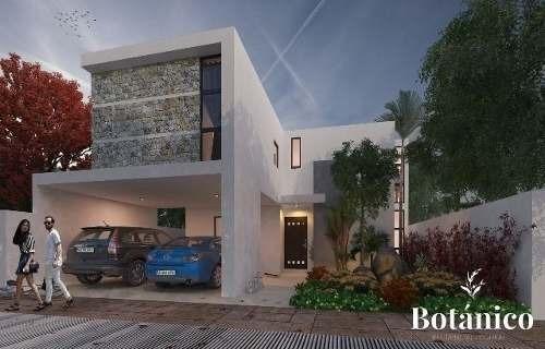 casa en privada botanico en conkal mod. 206
