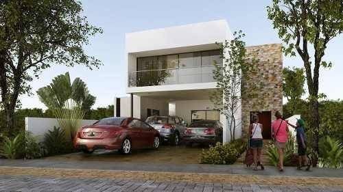 casa en privada con sala comedor a doble altura modelo d