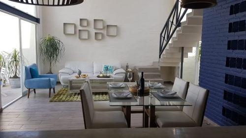 casa en privada en burgos / temixco - gsi-736-cd*