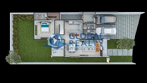 casa en privada parque central, cerca de altabrisa. cv-5148