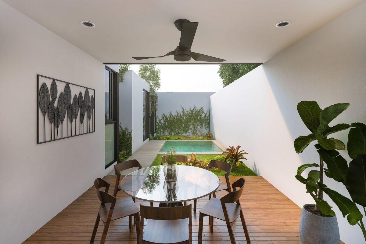 casa en privada residencial gardena.  modelo begonia