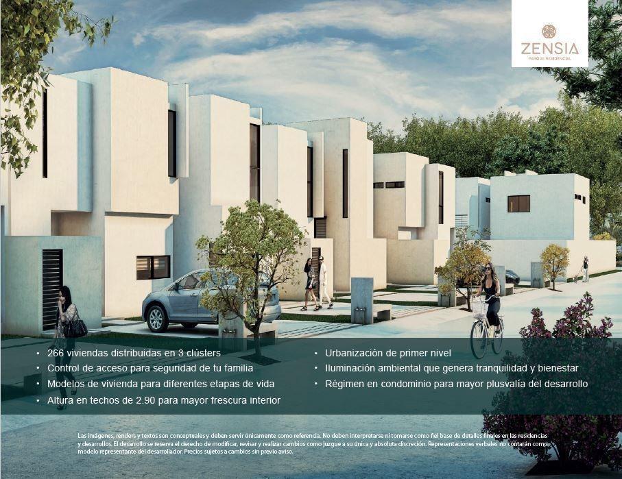 casa en privada zencia, 129.38 m2 de construccion, 2 rec, piscina