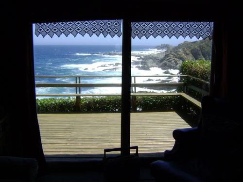 casa en punta de tralca con maravillosa vista al mar
