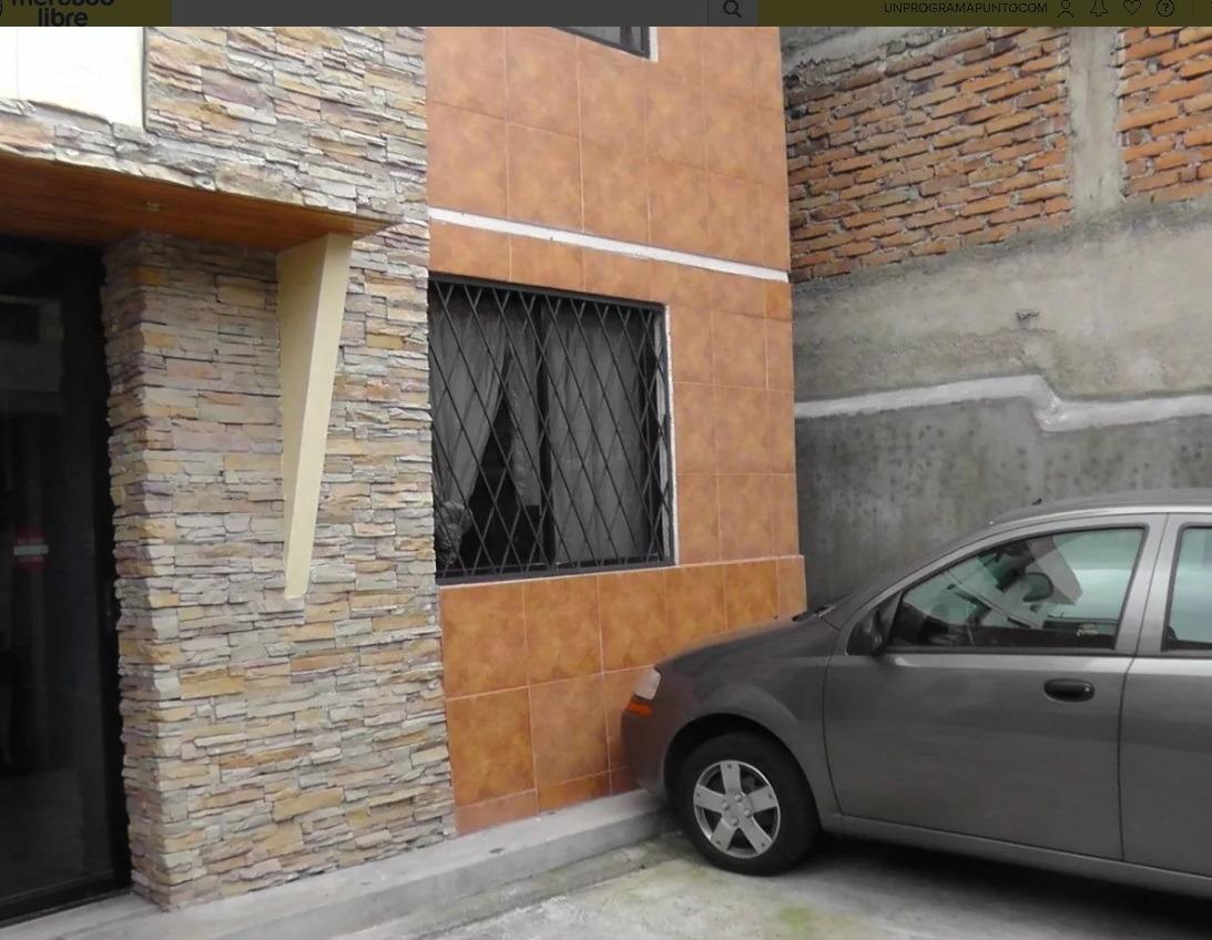 casa en quito de 3 pisos y terreno todo en regla