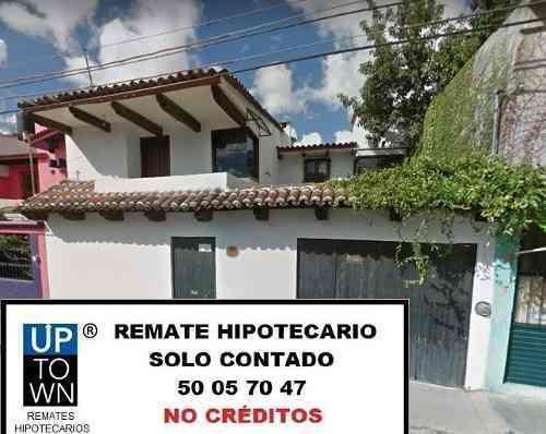 casa en remate hipotecario san cristobal, chiapas (7674)
