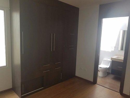 casa en renta 1 piso en la isla-lomas de angelopolis $29000