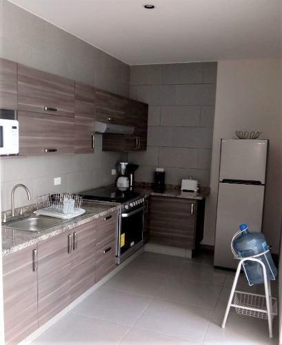 casa en renta amueblada  en la cantera (pozos)