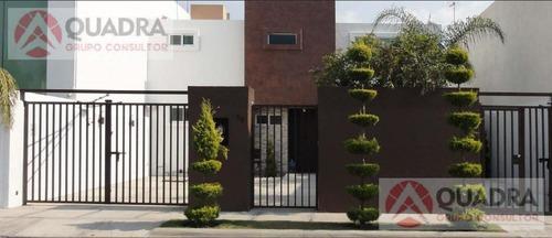 casa en renta amueblada en residencial del angel san andres cholula puebla