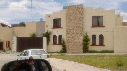 casa en renta amueblada en rinconada de los andes