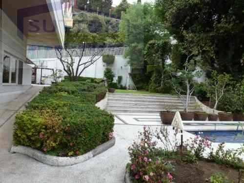 casa en renta  bosques de las lomas estilo californiana