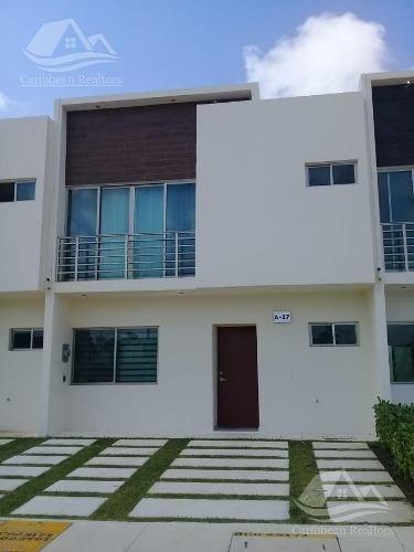 casa en renta en cancún en av. huayacan /long island
