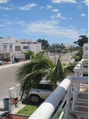 casa en renta en villa marino cancún c2316