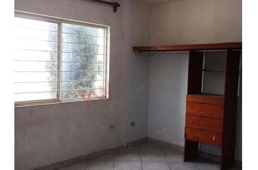 casa en renta ideal para oficina, col. azteca guadalupe, n.l.