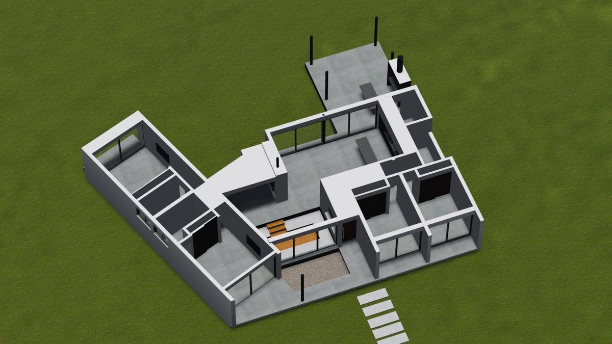 casa en residencial 1,  con pileta.