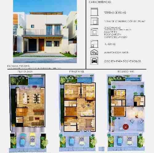 casa en residencial aqua en renta