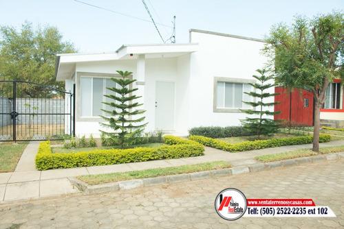 casa en residencial carretera a masaya