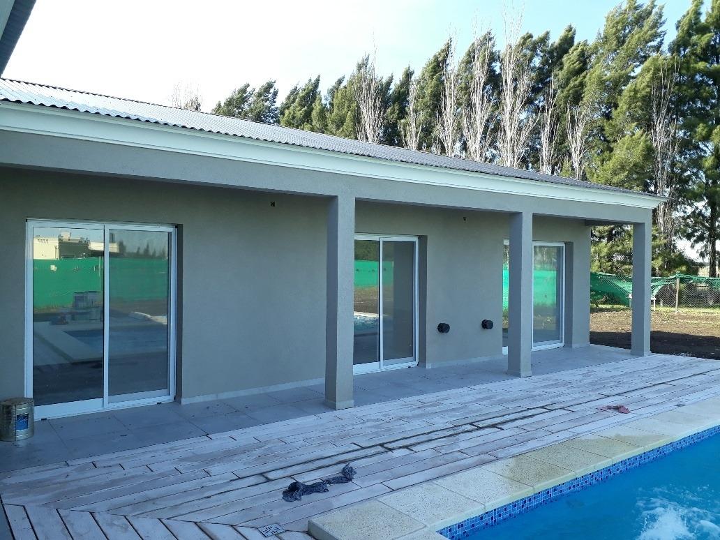 casa en santa ines de canning!!! sin vecinos y piscina!!!