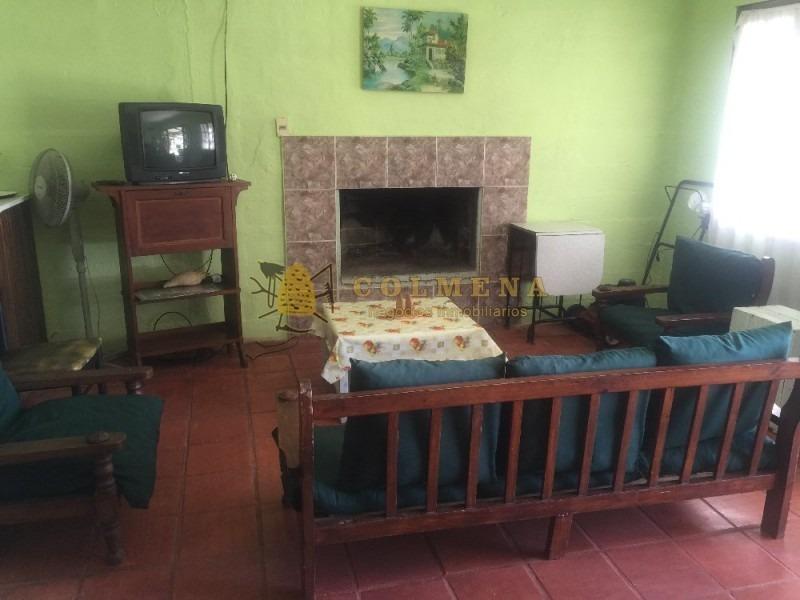 casa en santa monica, 3 dormitorios - frente a la laguna.-ref:414