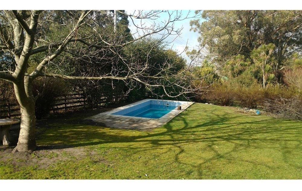 casa en sierra de los padres impecable con piscina