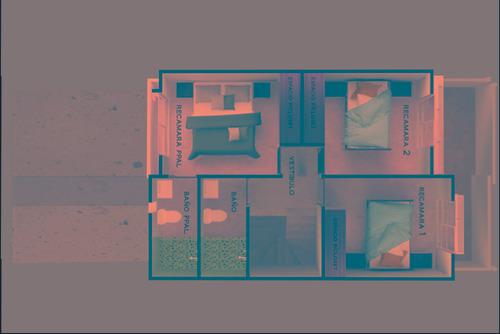 casa en toluca las misiones de 102 m2
