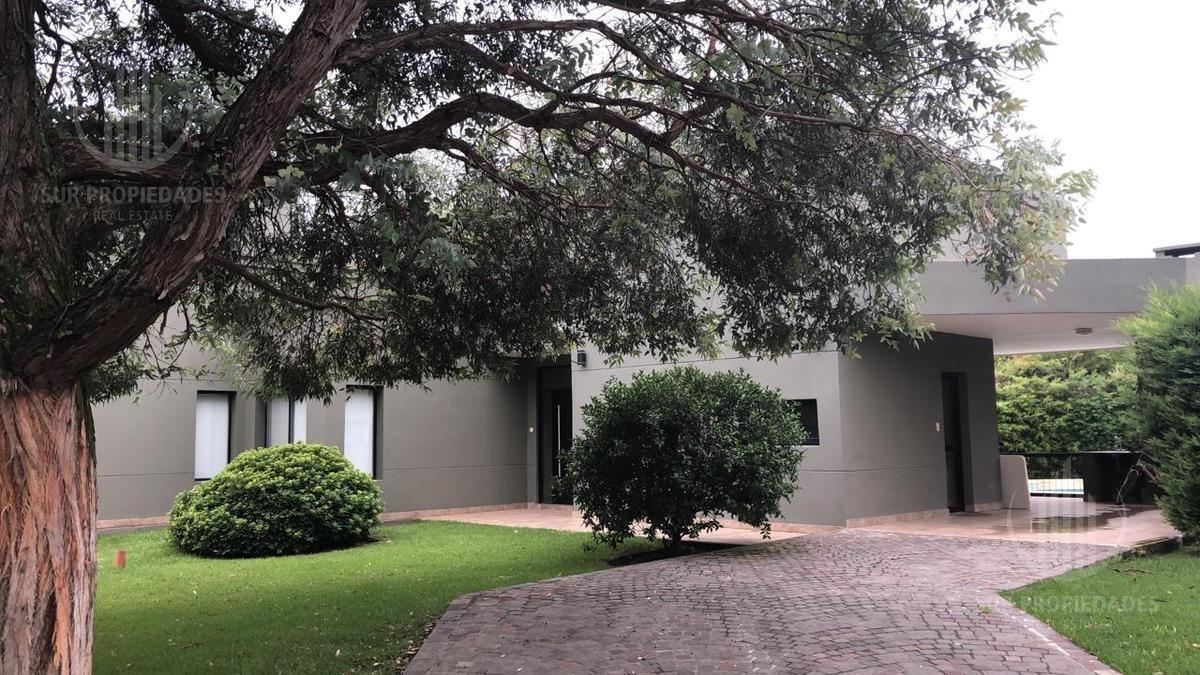 casa en una planta con piscina - alquiler - el lauquen - canning