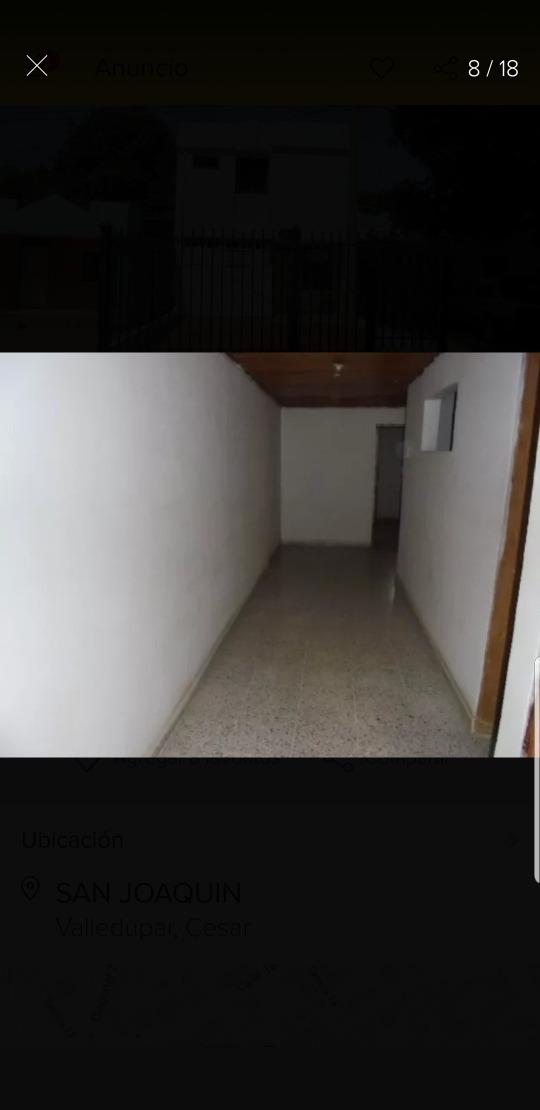 casa en valledupar, 2 pisos, 3 habitaciones, 3 baños.