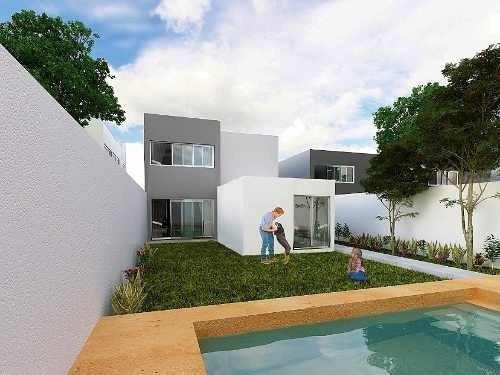 casa en venta 1 piso cholul 7