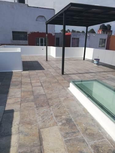 casa en venta  2 niveles con roof garden en tlaxcala