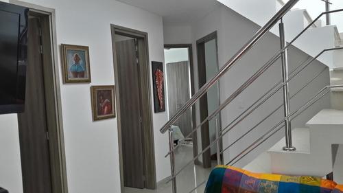 casa en venta, 2 pisos, en conjunto cerrado